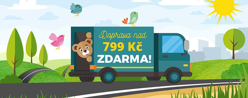 Doprava zadarmo leto titulna cz