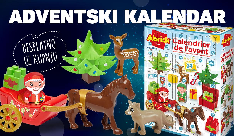 Adventski kalendar besplatno uz kupnju