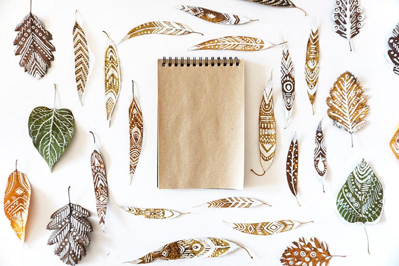 Jesen dekoracie listy