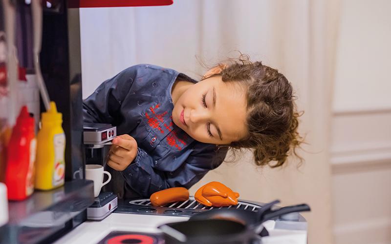 Kako izbrati otroško kuhinjo