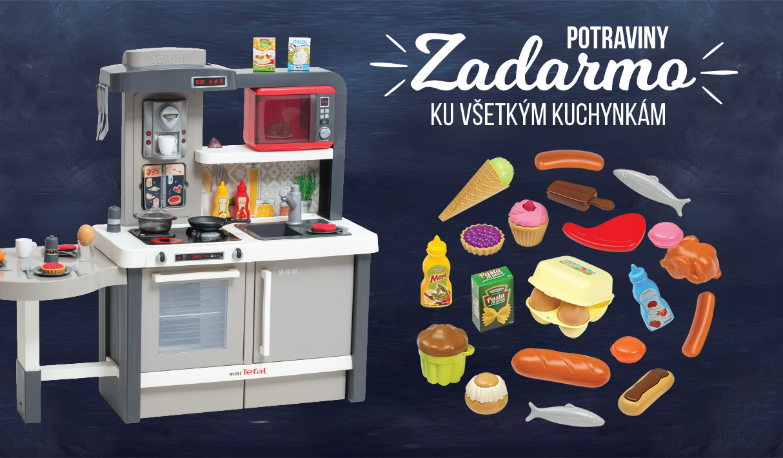 Potraviny zdarma ku každej kuchynke