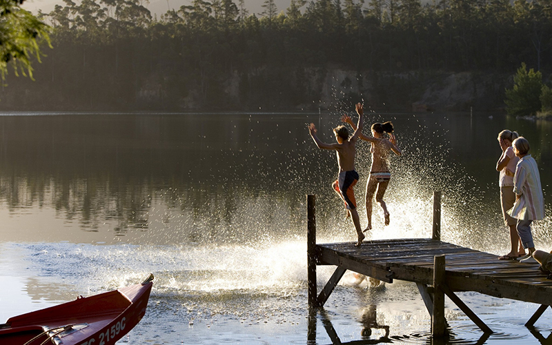 Leto jazero
