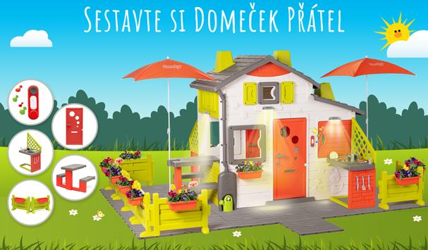 Sestav si svůj vlastní domeček na zahradu