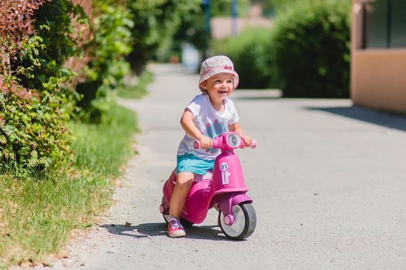 Odrazadlo scooter pink