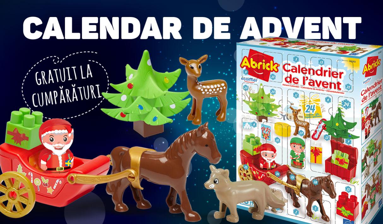 Calendar de advent gratuit de cumpăraturi