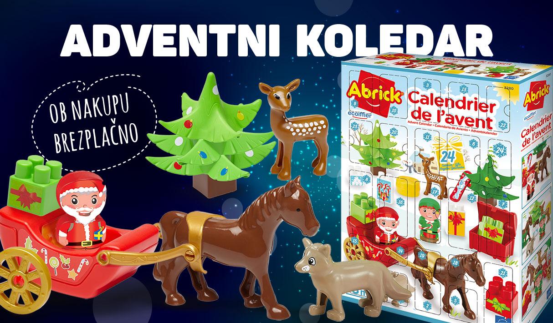 Adventni koledar brezplačno ob nakupu