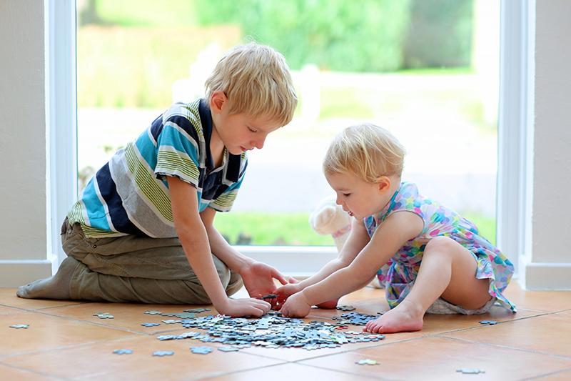 Skladanie puzzle benefity