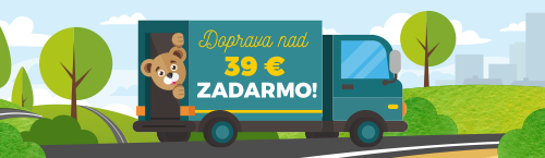 Doprava zadarmo nad 39€