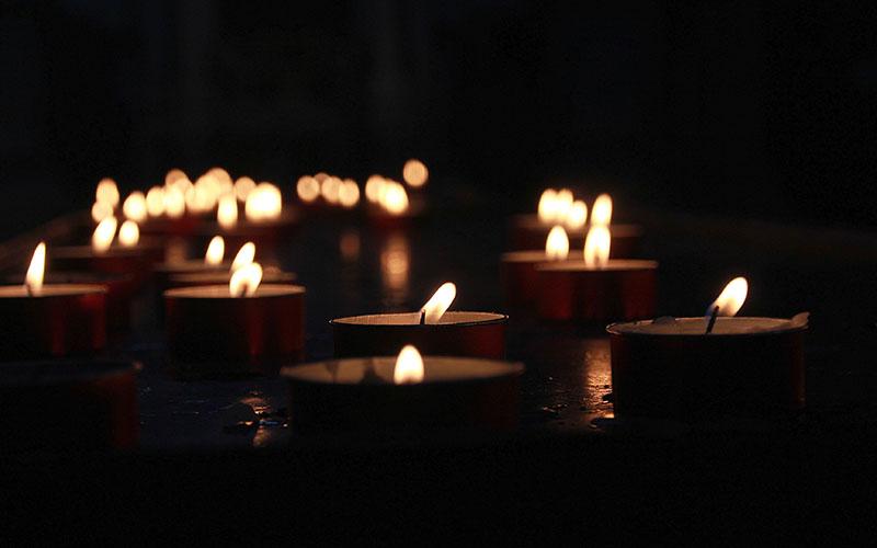 Svečke dan mrtvih
