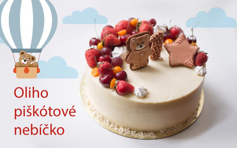 Torta Oliho piškótové nebíčko