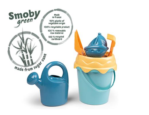 Prejmite vedro iz bioplastike za darilo