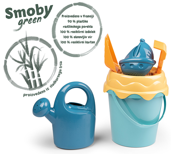 Vedro smoby green