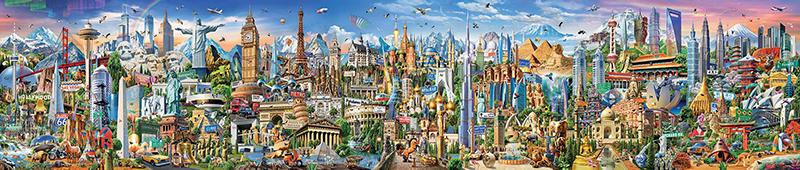 Veľké puzzle Around the world