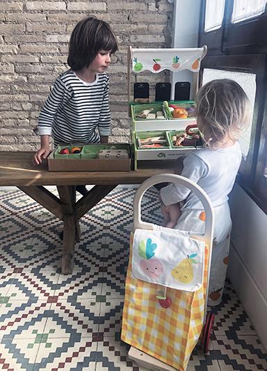 Nákupný vozík Tender Leaf Toys