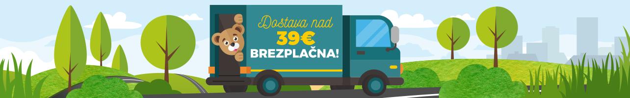 Doprava nad 39€ zdarma