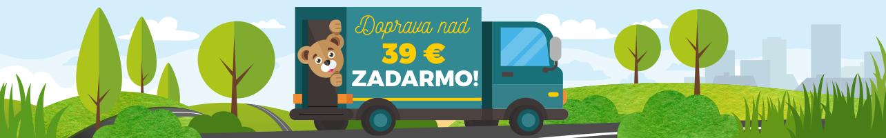 Doprava nad 39 € zadarmo