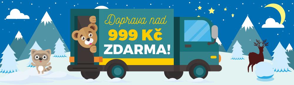 Doprava nad 39€ CZ zima