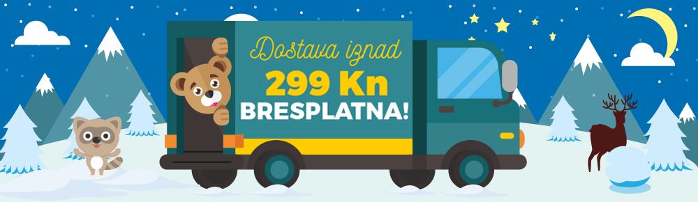 Doprava nad 39€ HR zima