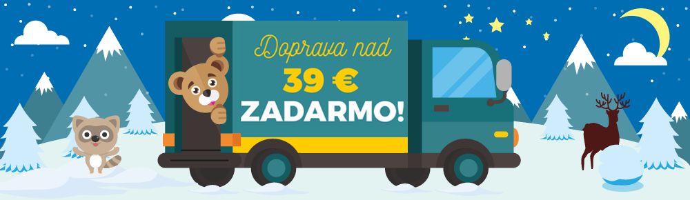 Doprava nad 39€ SK zima