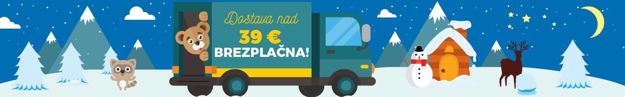 Doprava nad 39€ SI zima