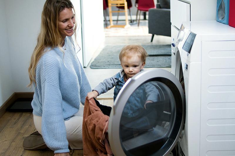 Zrucnosti vychova pranie