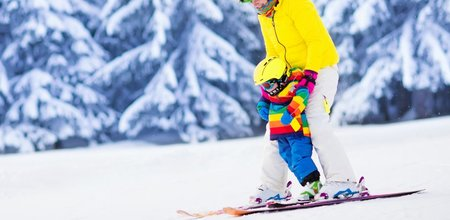 3 nejlepší místa, kde se vaše děti naučí lyžovat