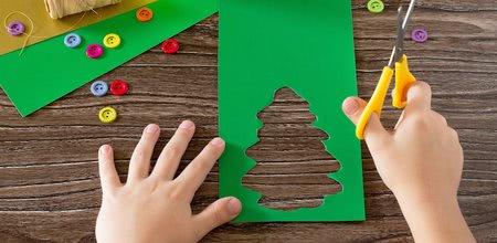 Vytvořte si krásnou vánoční dekoraci spolu s dětmi