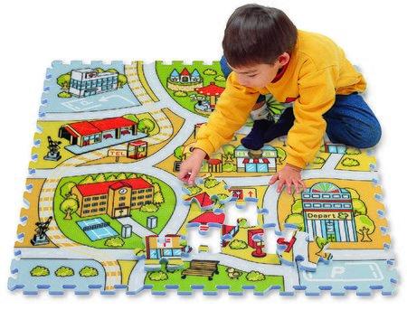 Puzzle iz pene Road Map – Zemljevid cest Lee Chyun 81 delov 92*92*1,4 cm od 0 mes