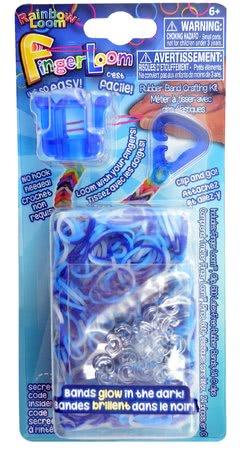 RAINBOW LOOM R0038 Finger Loom modrý 600 ks