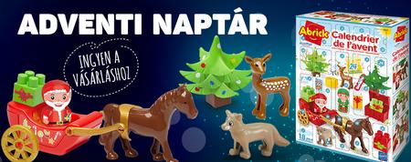 Vasárolj karácsonyra még ma és szerezz adventi naptárt ajándékba!