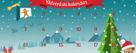 Adventski kalendar Meda: otkrivajte prozorčiće i osvajajte nagrade