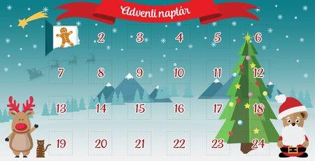 Mackóink adventi naptára