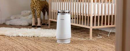 6 dôvodov, prečo by malo mať dieťa v izbe čističku vzduchu