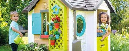 4 najlepšie domčeky Smoby do každej záhrady