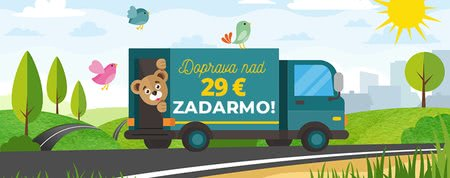 Doprava zadarmo nad 29 € nekončí!