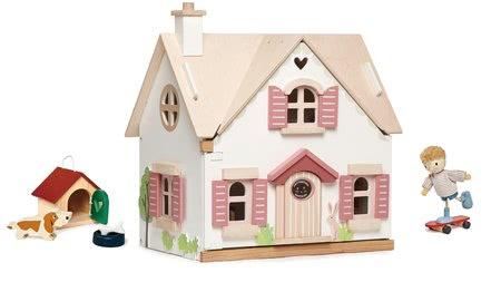 Lesene hišice za punčke