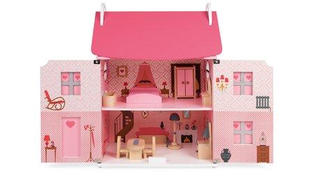 Dřevěné domky pro panenky