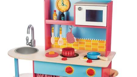 Bucătării de jucărie din lemn