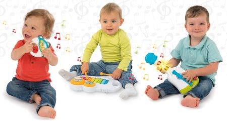 Zenélő bébijátékok