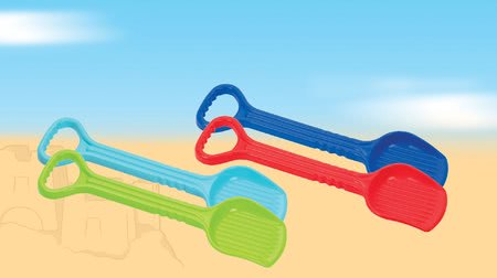 Lopatky do písku
