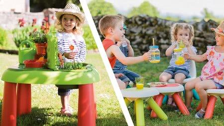 Dětský záhradní nábytek sety