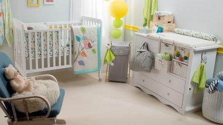 Detská izba a spánok