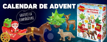 Pregătiți-vă de acum de Crăciun și obțineți cadou un calendar de advent!