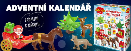 Opatřete Vánoce již dnes a získejte adventní kalendář jako dárek!