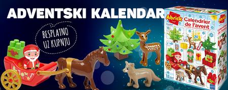 Spremite se za Božić još danas i osvojite adventski kalendar kao poklon!