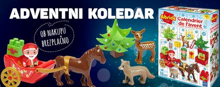 Poskrbite za božična darila že danes in za darilo prejmite adventni koledar!