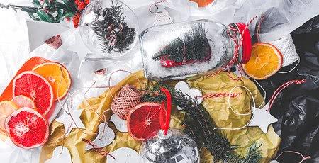 Ručně vyrobené Vánoce: 5 jednoduchých vánočních dekorací