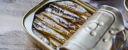 Zemiakové pyré so sardinkami