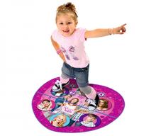 SMOBY 27229 dvojdielny koberec na tancovanie Violetta so zvukom a svetlom