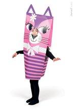 Ručné práce a tvorenie - Karnevalový kostým Mačka Sackanimo Janod _0